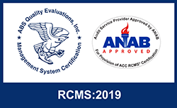 ANAB Acredited RCMS:2019